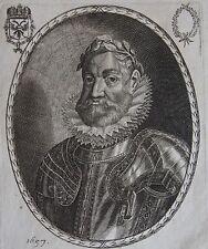 RODOLPHE II ROY DES ROYAUMES DE HONGRIE ET BOHEME, Duc d'Autriche ...... Gravure