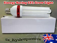 HYDROPONIC 130W ENERGY SAVING GROW LIGHT CFL 6400K GROW TENT GROWTH DAY LIGHT