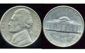 USA 5 cents   jefferson  1972 D