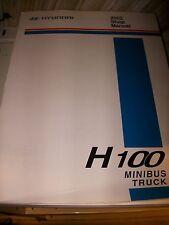 Hyundai H100 2002 : SHOP MANUAL manuel d'atelier