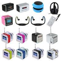 NEW Mini Speaker HiFi Amplifier Micro USB FM / Wireless Headphone Wrap Headphone