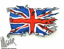 ill Gear UK UNION JACK Ripped Flag hook and loop United Kingdom Tactical Morale