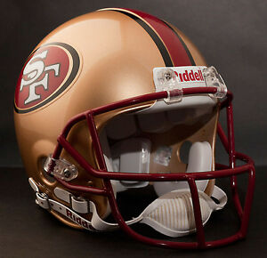 JERRY RICE Edition SAN FRANCISCO 49ers Riddell AUTHENTIC Football Helmet NFL