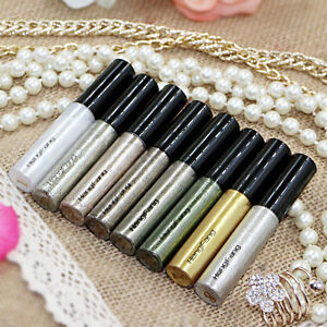 8 Colors Eyeliner Eye Liquid Smooth Glitter Makeup Cosmetics Lip Pencil Shadow