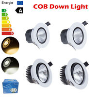 Dimmable COB 6W 9W 12W 15W Led Downlight Bulb Recessed Ceiling Light Lamp