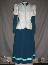 Victorian Dress Womens Edwardian Civil War Style Walking Suit Custom Designed
