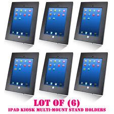 Lot of 6 Pyle PSPADLKW5 Anti-Theft Kiosk Multi Mount Stand for iPad 2/3/4 & iPad