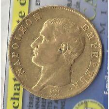 40 Francs OR NAPOLEON EMPEREUR  AN 13 A en etat TTB OR ORO GOLD