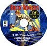 Buck Rogers in the 25th Century 12 Old Time Radio Shows Sci-Fi MP3 Audio CD OTR