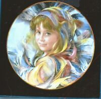 1985 Royal Doulton Francisco Masseria Gabriella plate original box