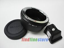 Contax Yashica CY C/Y Lens to Micro 4/3 M4/3 Tripod Mount Adapter E-PL1 E-PM1