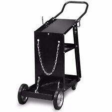 MIG TIG ARC Welder Welding Cart Universal Storage for Tanks & Accessories Wheels