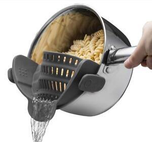 Sieb für die Küche Küchensieb Nudelsieb Nudel  Abtropfsieb Silikonsieb Silikon