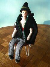 Puppenhaus 1:12  von Erna Mayer Mann Puppenhauspuppe Puppe Puppenhauszubehör