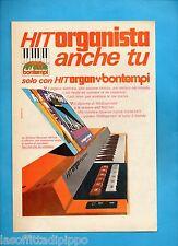 ALTOP971-PUBBLICITA'/ADVERTISING-1971- BONTEMPI - HIT ORGAN