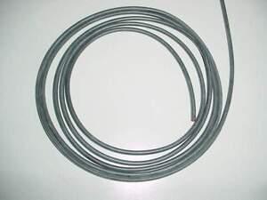 1,0 mm² qmm Silikonlitze / Silikonkabel 1m schwarz