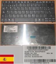 Clavier Qwerty Espagnol ACER Aspire One 751H  ZA3 9Z.N3C82.00S  AEZA3P00010 Noir