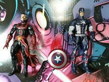 Marvel Legends doctor strange and captain america