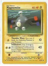 Pokemon Base set common Magnemite 53/102 Near Mint condition