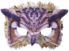 Authentische Eulen Maske NEU - Karneval Fasching Maske Gesicht