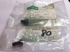 2 Qty- Genuine Hitachi 878-647 878647 Hex. Socket HD. Bolt M6X12 NR83AA NR65AK