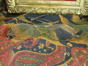 ancienne paire de lunettes epok 1900 pince nez lorgnon binocle