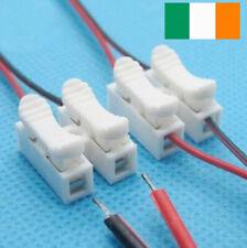 10 Pcs Conectores de cables eléctricos Terminales cable bloqueo empalme rápido