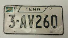 1976 TENNESSEE Knox County License Plate 3-AV260