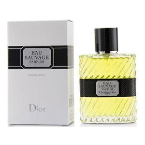 DIOR EAU SAUVAGE PARFUM for MEN * 3.4 oz (100 ml) Spray * NEW & SEALED