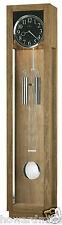 Howard Miller 611-228 Camlon - Driftwood Finished Floor Clock & Polished Chrome