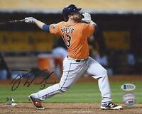 Tyler White Autographed Houston Astros 8x10 Photo World Series Witness Beckett