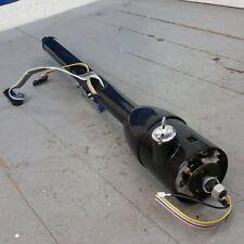 """32"""""""" Black Stainless Manual Floor Shift Tilt Steering Column W/ ignition KEY GM"""