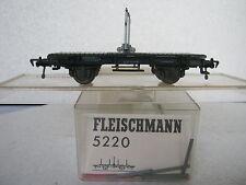 Fleischmann HO 5220 Drehschemelwagen DB (RG/CB/241-8R1/5)