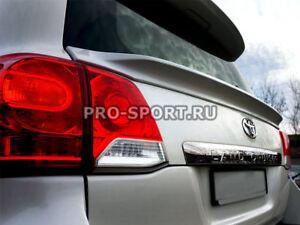 Toyota Land Cruiser 200 2008 2009 2010 2011 2012 trunk lower spoiler