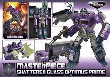 Transformers obra maestra de vidrio destrozado Optimus Prime Nuevo