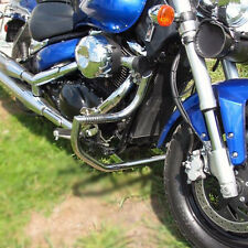 Suzuki VL800 Volusia C800 C50 Stainless steel crash bar engine guard with pegs