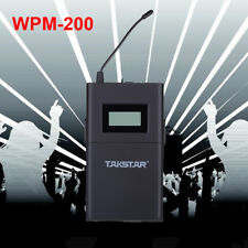 UHF Takstar WPM-200 Professional Wireless Monitor System In-Ear Stereo Receiver