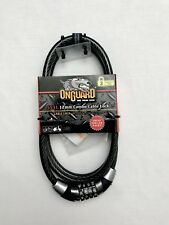 6ft Bike Combination Cable Lock - Scooter Bicycle - Resettable - OnGuard 5531