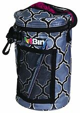 Artbin Mini Yarn Drum wool skeins bag storage tote round knitting grey Flambeau