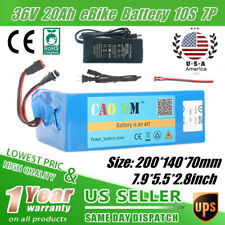 EBIKE BATTERY LITHIUM Li-Ion 36V20AH Bicycle Scooter Electric Motor PowerCharger