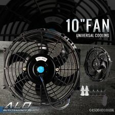 "10"" Universal Slim Fan Push Pull Electric Radiator Cooling 12V 1570 CFM NEW"