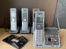 AT&T Cordless Phone/Answering/Intercom System  Model CL82401 DECT 6.0/ 4 Phones