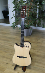 Godin Multiac Nylon Natural HG II Left-Handed | Linkshänder Hybrid Gitarre