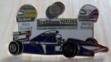 PIN'S F1 FORMULA ONE BRABHAM YAMAHA CASQUE MARK BLUNDLL MARTIN BRUNDLE EGF MFS