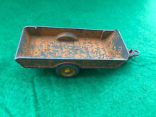 Dinky Toys No. 320 Halesowen Brown and Red Farm Trailer