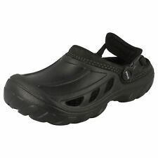UK 4 (US M5) Crostrail Men black synthetic clog by Crocs SALE NOW £7.99