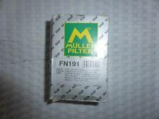 MANN FN191 FUEL FILTER VAUXHALL VIVARO 1.9, 2.0 AND 2.5 DIESEL 2001-2014