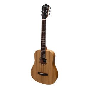 New Martinez Babe Traveller Mini Acoustic Travel Guitar (Acacia)