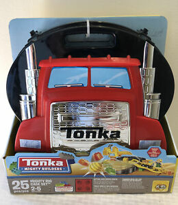 Tonka Mighty Builders: Mighty Rig 25 Piece Case Set Building Blocks Toy Set New