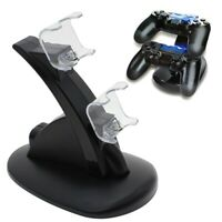 Dual USB Charger Charging Stand Dock for PS4 Dualshock Controller Remote Trigger